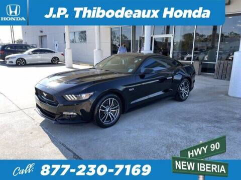 2017 Ford Mustang for sale at J P Thibodeaux Used Cars in New Iberia LA