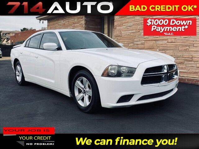 2012 Dodge Charger for sale at 714 Auto in Orange CA