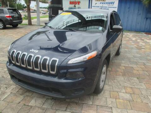 2014 Jeep Cherokee for sale at Affordable Auto Motors in Jacksonville FL