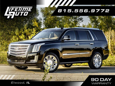 2016 Cadillac Escalade for sale at Lifetime Auto in Elwood IL