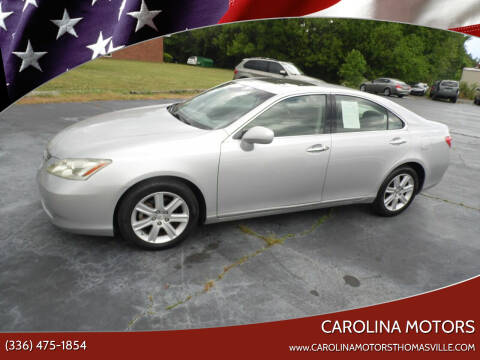 2008 Lexus ES 350 for sale at CAROLINA MOTORS in Thomasville NC