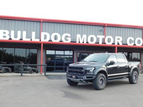 2019 Ford F-150 for sale at Bulldog Motor Company in Borger TX