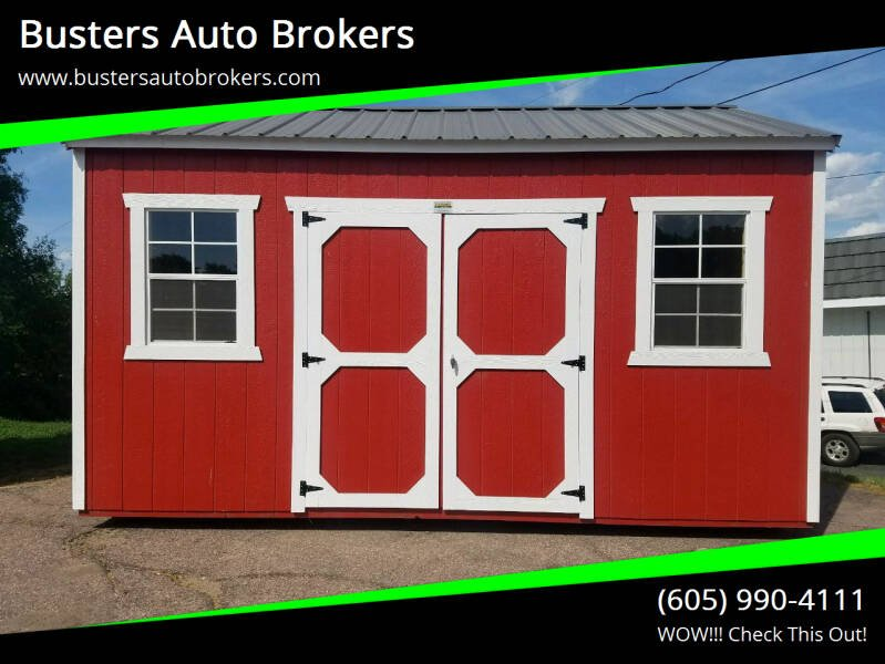 2021 Old Hickory Building 10 x 16 Side Utility Building for sale at Busters Auto Brokers in Mitchell SD