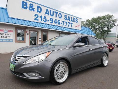 2013 Hyundai Sonata for sale at B & D Auto Sales Inc. in Fairless Hills PA