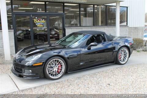 2013 Chevrolet Corvette for sale at Corvette Mike New England in Carver MA