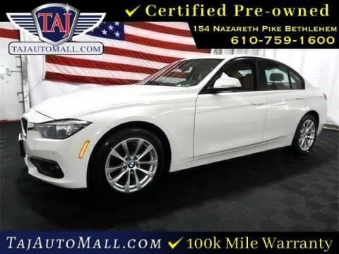 2017 BMW 3 Series for sale at Taj Auto Mall in Bethlehem PA