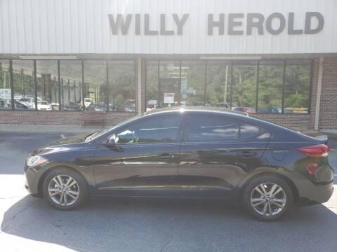 2017 Hyundai Elantra for sale at Willy Herold Automotive in Columbus GA