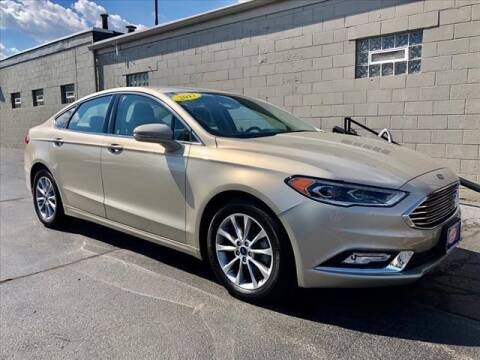 2017 Ford Fusion for sale at Richardson Sales & Service in Highland IN