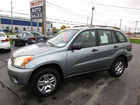 2005 Toyota RAV4 for sale at TRI CITY AUTO SALES LLC in Menasha WI