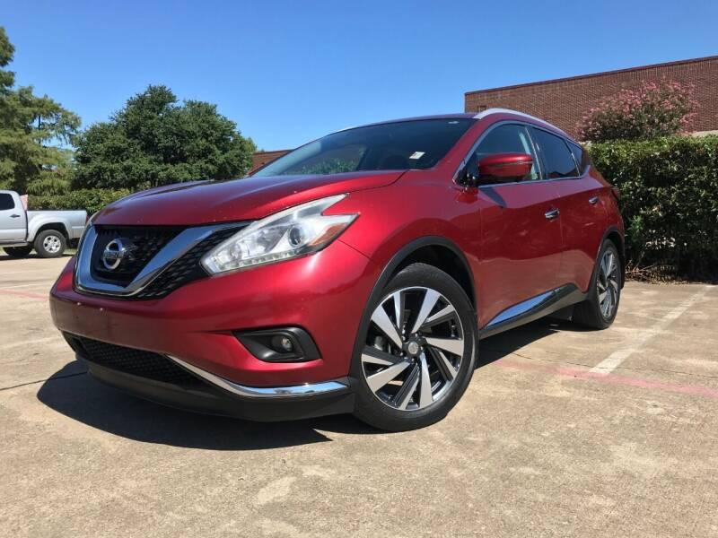 2016 Nissan Murano for sale at Italy Auto Sales in Dallas TX