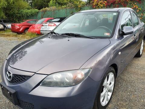 2008 Mazda MAZDA3 for sale at M & M Auto Brokers in Chantilly VA