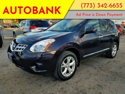 2011 Nissan Rogue for sale at AutoBank in Chicago IL