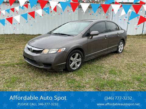 2011 Honda Civic for sale at Affordable Auto Spot in Houston TX