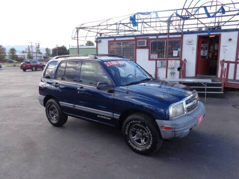 2003 Chevrolet Tracker for sale at Jim's Cars by Priced-Rite Auto Sales in Missoula MT