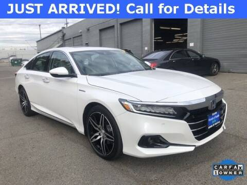 2021 Honda Accord Hybrid for sale at Honda of Seattle in Seattle WA