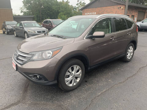 2013 Honda CR-V for sale at Superior Used Cars Inc in Cuyahoga Falls OH