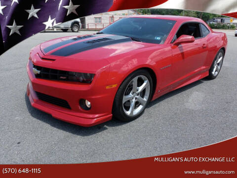 2010 Chevrolet Camaro for sale at Mulligan's Auto Exchange LLC in Paxinos PA