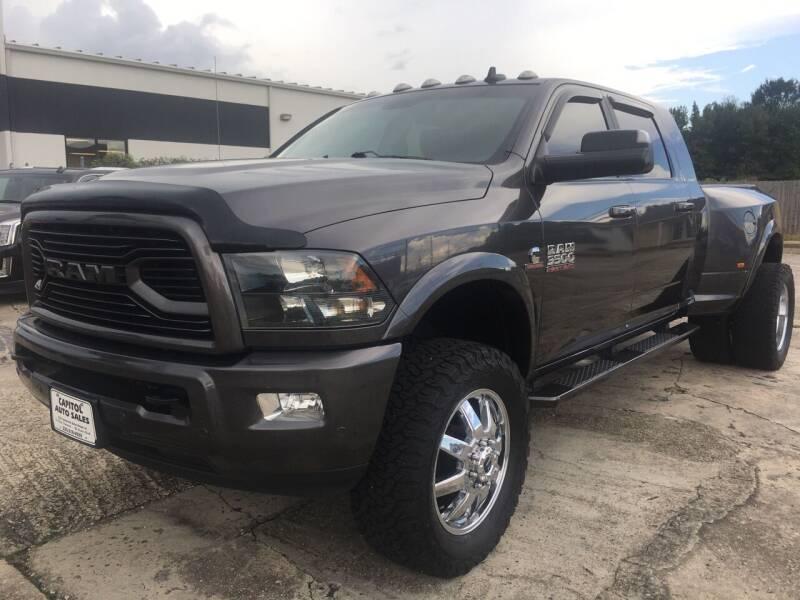 2018 RAM Ram Pickup 3500 for sale at CAPITOL AUTO SALES LLC in Baton Rouge LA