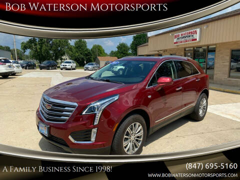 2018 Cadillac XT5 for sale at Bob Waterson Motorsports in South Elgin IL