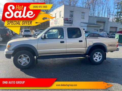 2003 Toyota Tacoma for sale at DND AUTO GROUP in Belvidere NJ
