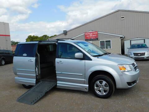 2009 Dodge Grand Caravan for sale at Macrocar Sales Inc in Akron OH
