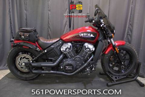 2019 Indian Scout® Bobber ABS Icon Series for sale at Powersports of Palm Beach in Hollywood FL