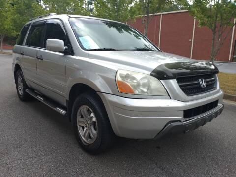2005 Honda Pilot for sale at Georgia Fine Motors Inc. in Buford GA