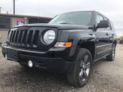 2016 Jeep Patriot for sale at Texas Country Auto Sales LLC in Austin TX