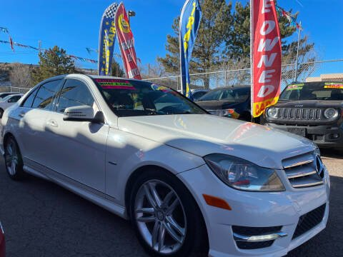 2012 Mercedes-Benz C-Class for sale at Duke City Auto LLC in Gallup NM