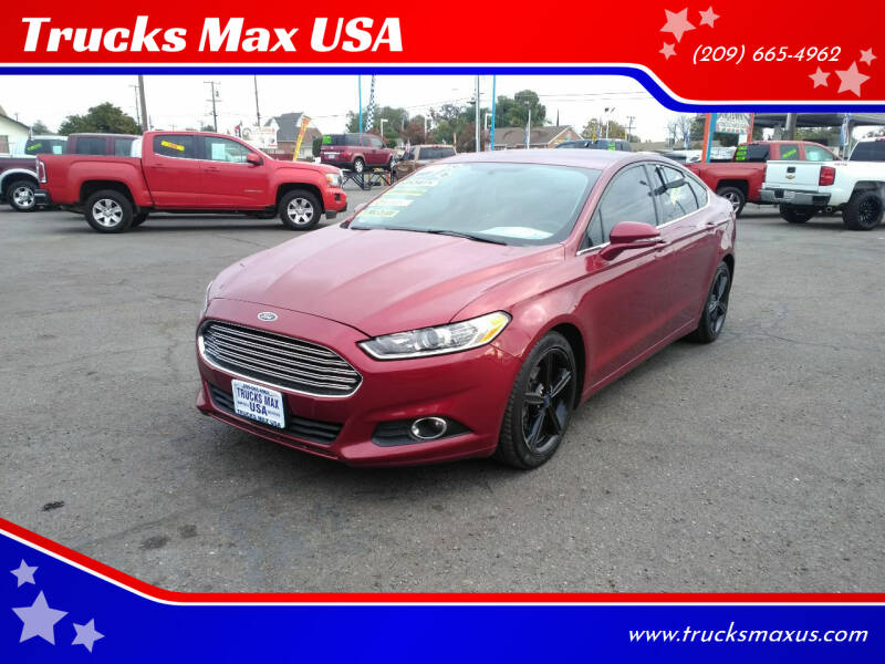 2016 Ford Fusion for sale at Trucks Max USA in Manteca CA