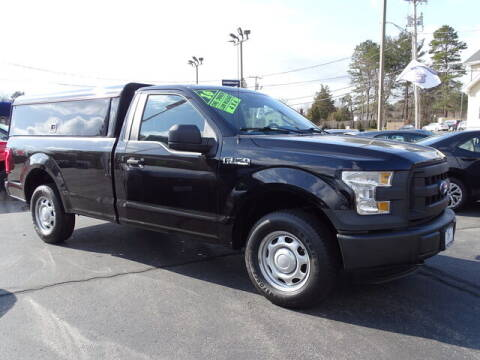 2016 Ford F-150 for sale at Sandy Motors Inc in Coventry RI