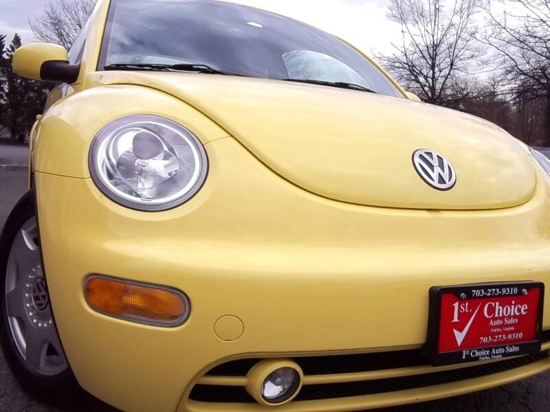 2001 Volkswagen New Beetle for sale at 1st Choice Auto Sales in Fairfax VA