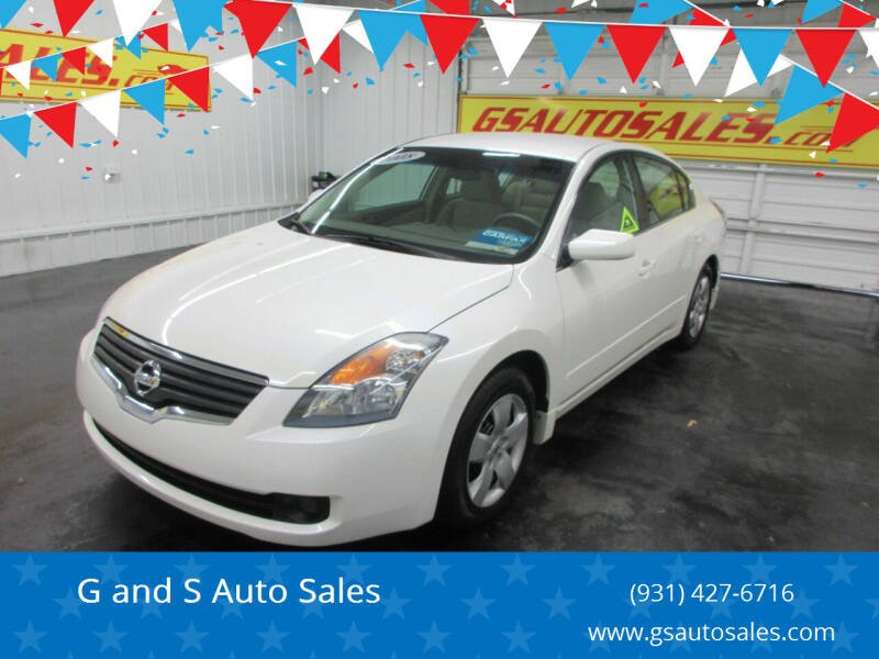 2008 Nissan Altima for sale at G and S Auto Sales in Ardmore TN