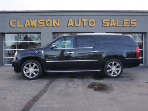 2010 Cadillac Escalade ESV for sale at Clawson Auto Sales in Clawson MI