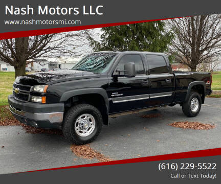 2007 Chevrolet Silverado 2500HD Classic for sale at Nash Motors LLC in Hudsonville MI
