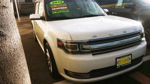 2014 Ford Flex for sale at El Guero Auto Sale in Hawthorne CA