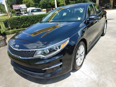 2016 Kia Optima for sale at TR Motors in Opelika AL