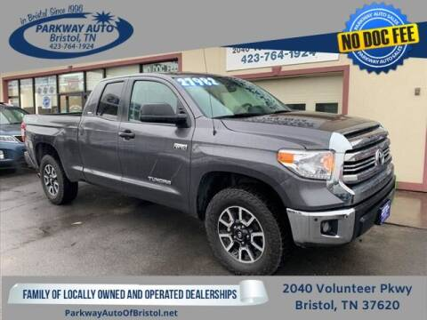 2017 Toyota Tundra for sale at PARKWAY AUTO SALES OF BRISTOL in Bristol TN