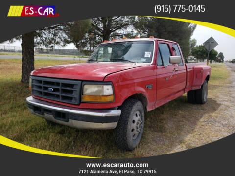 1996 Ford F-350 for sale at Escar Auto in El Paso TX