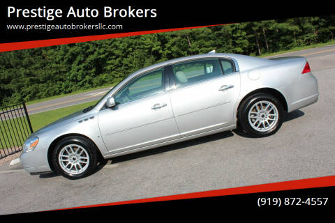 2009 Buick Lucerne for sale at Prestige Auto Brokers in Raleigh NC
