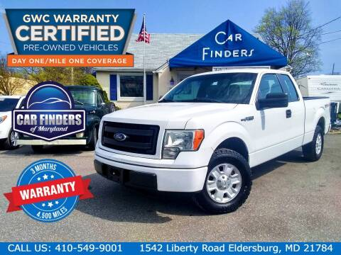 2013 Ford F-150 for sale at CAR FINDERS OF MARYLAND LLC - Certified Cars in Eldersburg MD