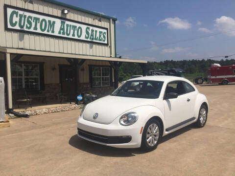 2013 Volkswagen Beetle for sale at Custom Auto Sales - AUTOS in Longview TX