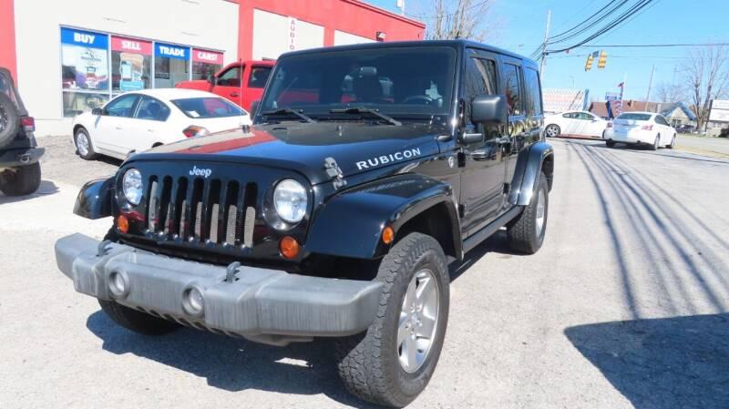 2012 Jeep Wrangler Unlimited for sale at RIVERSIDE CUSTOM AUTOMOTIVE in Mc Minnville TN
