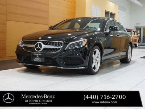 2018 Mercedes-Benz CLS for sale at Mercedes-Benz of North Olmsted in North Olmstead OH
