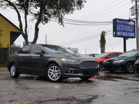 2016 Ford Fusion for sale at Winter Park Auto Mall in Orlando FL