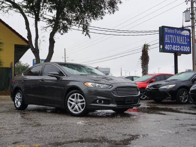 2016 Ford Fusion for sale at Winter Park Auto Mall in Orlando FL