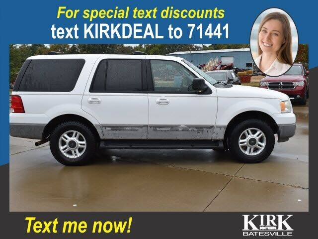2003 Ford Expedition for sale at Kirk Brothers Batesville in Batesville MS