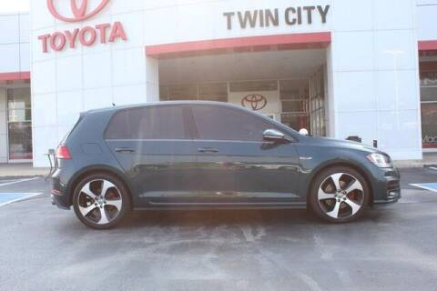 2018 Volkswagen Golf GTI for sale at Twin City Toyota in Herculaneum MO