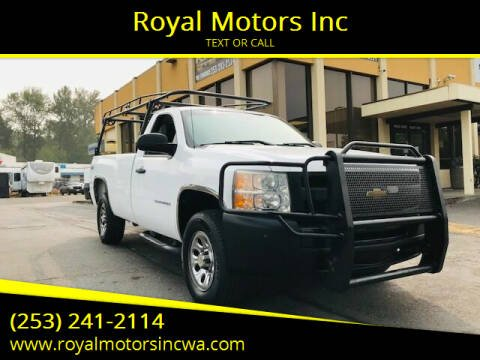 2010 Chevrolet Silverado 1500 for sale at Royal Motors Inc in Kent WA