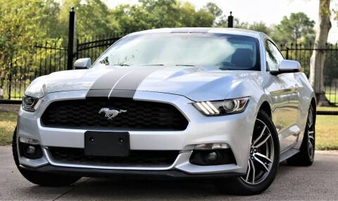 2017 Ford Mustang for sale at Texas Auto Corporation in Houston TX